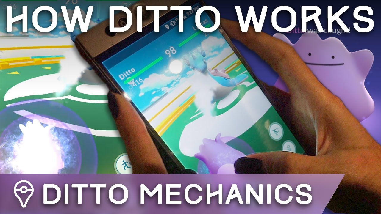 Pokemon Go: Best and Easiest Way to Catch a Ditto – How-to Catch