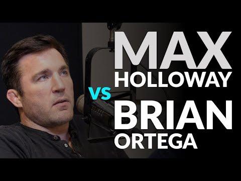 Max Holloway vs Brian Ortega deserves more attention...