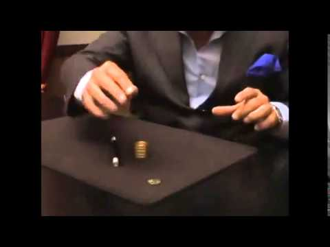 B0012 - Magic Tricks Quarter Squeeze Brass by Tango Trick