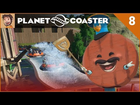 Let's Play Planet Coaster - Hard Mode - Part 8