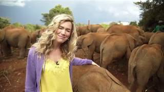Kenya - Joss visits The David Sheldrick Wildlife Trust