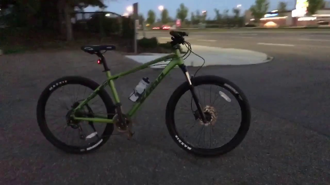 2017 Kona Blast MTB Hardtail first night ride lights demo 1 - YouTube 604e99a9e