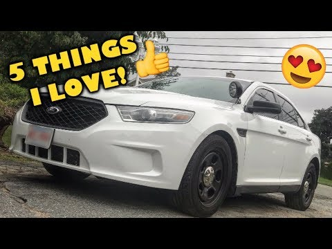 5 things I like about my Ford Police Interceptor Sedan!
