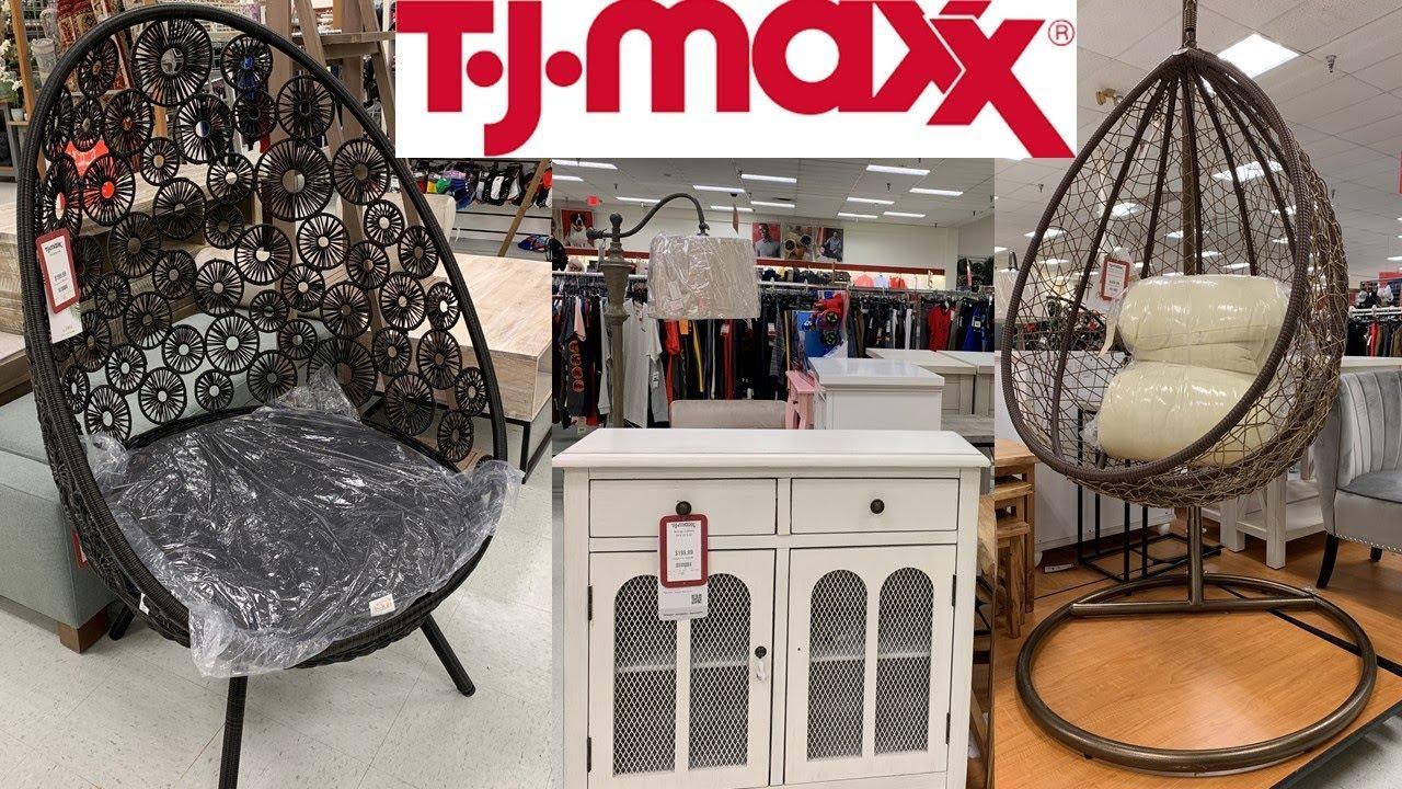 TJ Maxx Furniture  Home Decor Spring Decor  Shop With Me March 9