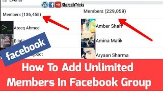 How To Add Unlimited Members In Facebook Group / New Trick 2018