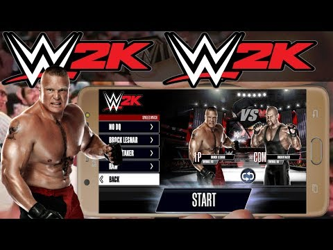 How To Download WWE 2K On Android For Free 2019