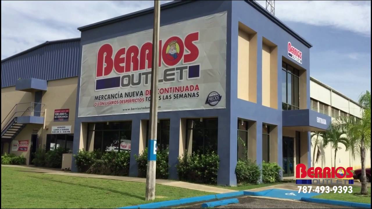 Berrios outlet isabela mueblerias berrios centro de for Outlet de muebles df