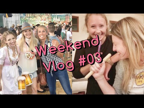 Sleepover-Karaoke Party, Oktoberfest | Au Pair Weekend Vlog #03 ♥ AnnaKlatsche