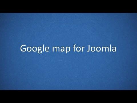 Simple Google Map Plugin For Joomla 2.5 - 3.x