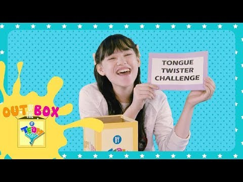 Tongue Twister Challenge | Out of the Box by Team YeY