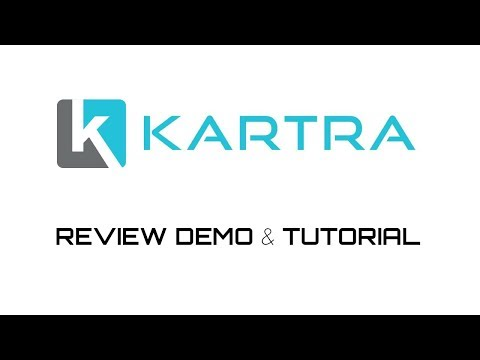 Kartra Review Demo Tutorial - All In One Internet Marketing Software Platform