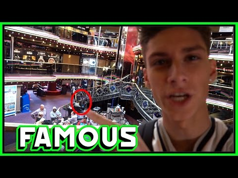 FAMOUS PERSON ON OUR CRUISE SHIP!!