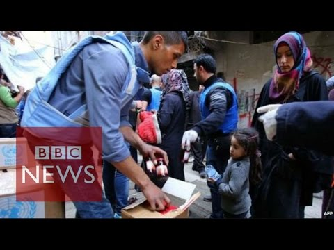 Islamic State militants 'enter Yarmouk refugee camp' in Damascus - BBC News