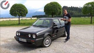 1989 VW Volkswagen Golf GTI II G60 118 kW / 160 PS Review, Test, Fahrbericht