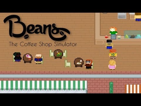 I'm a Barista in Beans the Coffee Shop Simulator!!