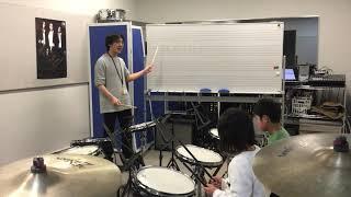 島村楽器レッスン紹介動画 ドラム・キッズドラム教室 由上 一郎先生