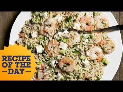 Recipe Of The Day: Ina's Roasted Shrimp And Orzo | Food Network