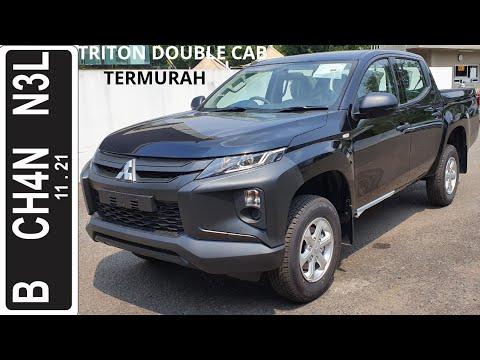 In Depth Tour Mitsubishi Triton HDX Double Cab [5th Gen] Facelift - Indonesia