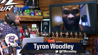 Tyron Woodley on Demian Maia: Of All Top-10 170ers, 'I Match Up The Best With Him'