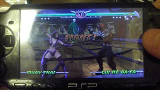 Обзор игры на PSP MORTAL KOMBAT UNCHAINED