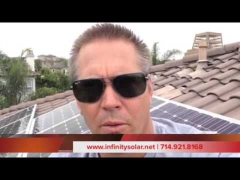 Solar Installation in Huntington Beach by Infinity Solar