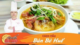 Cách nấu Bún bò Huế rất ngon   Khám Phá Bếp Việt