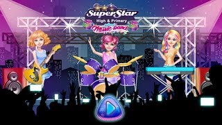 Kids Games   Super Star High & Primary school - Music Band