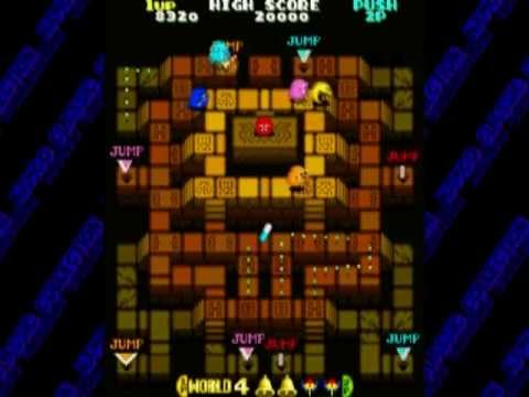 Namco Museum (PS2 Gameplay)