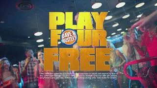 Dave & Buster's   Jumanji   Play 4 Games Free