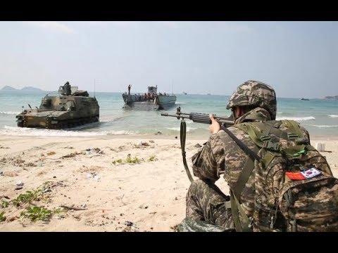 Republic of Korea, Thailand and U.S. forces perform amphibious assault