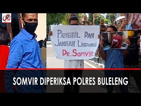 Somvir Bungkam Ditanya Wartawan