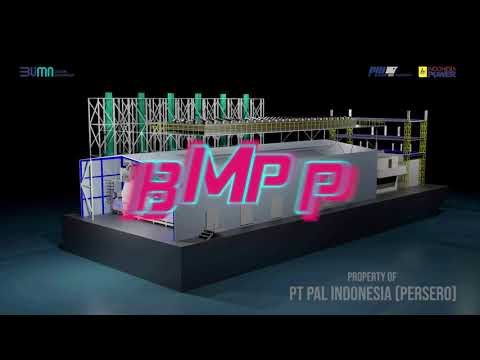 PT PAL Indonesia (Persero) Luncurkan Barge Mounted Power Pla
