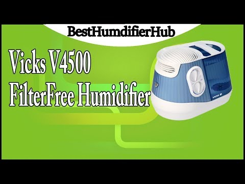 Vicks V4500 FilterFree Humidifier Review