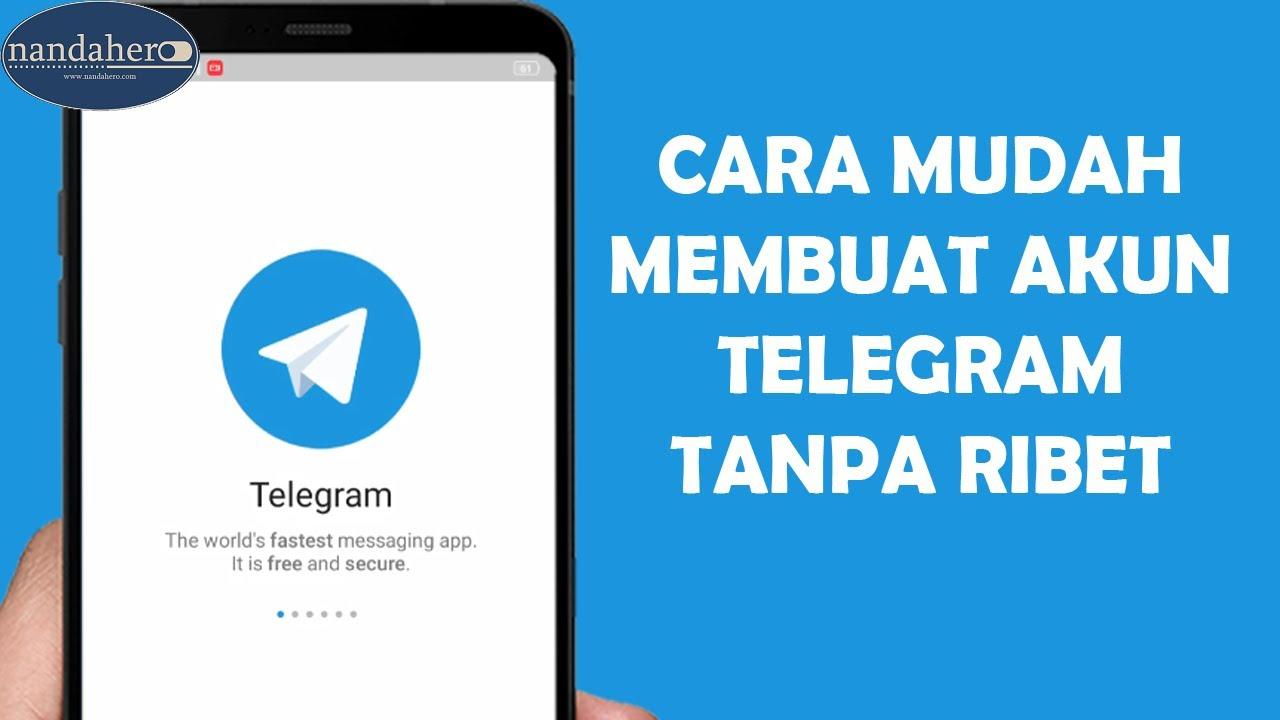 Cara Daftar Telegram Untuk Pemula Membuat Akun Telegram Youtube
