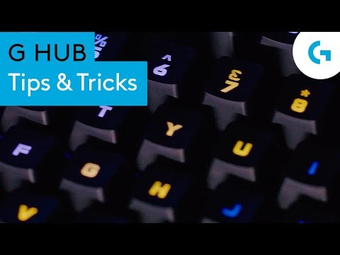 G HUB Tips and tricks