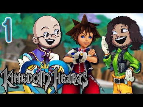 """Kingdom Hearts 1 """"WHEN YOU WALK AWAY!"""" EPISODE 1 - Games Over Easy"""