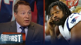 Eric Mangini isn't shocked Pats suspended Michael Bennett for conduct | NFL | FIRST THINGS FIRST Video