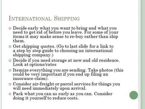International Moving Checklist (Moving To Ireland) - Youtube