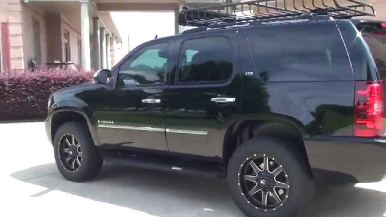 HD VIDEO 2009 CHEVROLET TAHOE LTZ BLACK FOR SALE SEE WWW ...