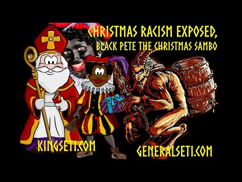 CHRISTMAS  RACISM EXPOSED: BLACK PETE THE CHRISTMAS SAMBO #GeneralSeti #SaRaSutenSeti