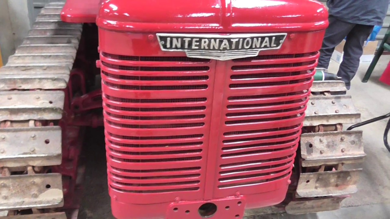 1942 International TD6 at Tractor World show 2017