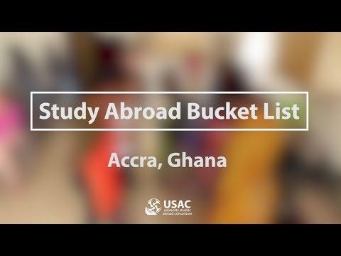 Study Abroad Bucket List - Accra, Ghana