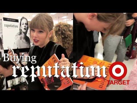 Taylor Swift Buying 'reputation' at Target