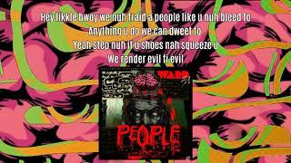 Ward 21 - People (Lyrics Video)