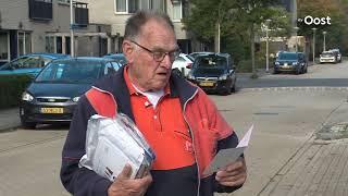 Op stap met de oudste postbode van Nederland