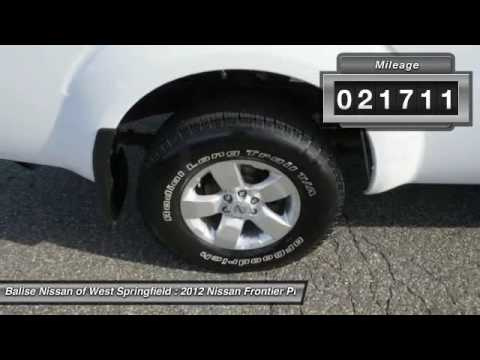 2012 Nissan Frontier West Springfield MA N33451A