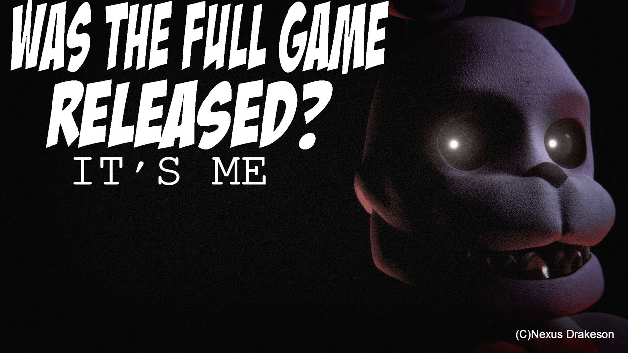 Five nights at freddys 3 was scott hacked and the full game released
