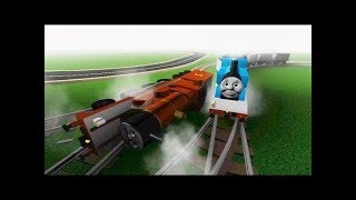Thomas the Engine and Friends Morning Run With James Thomas the train Roblox 2