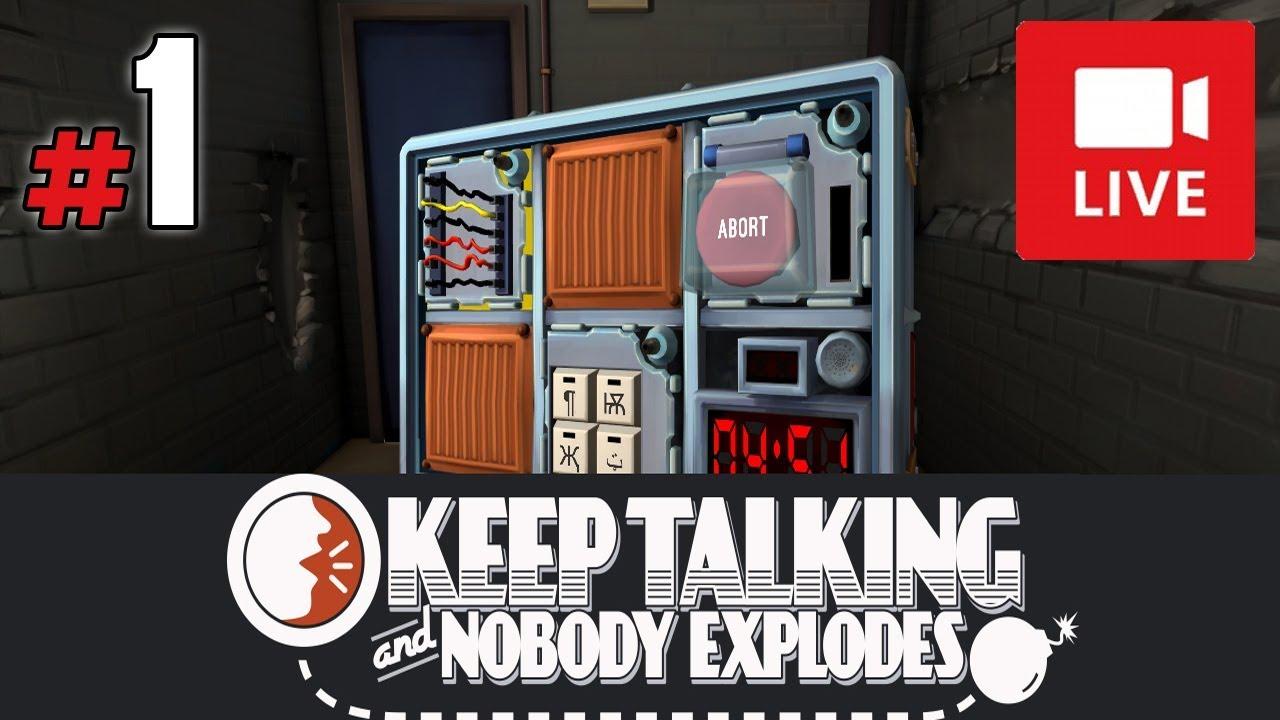 """[Archiwum] Live – Keep Talking and Nobody Explodes z Torgusem! (1) – [1/2] – """"Cyfry i pozycje"""""""