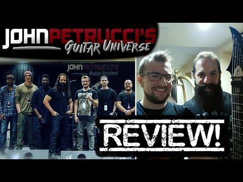 John Petrucci's Guitar Universe 2017!  WAS IT WORTH IT?  egitarzystaTV !